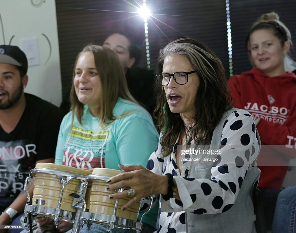 Steven Tyler Guest Speaker At Recovery Unplugged : News Photo