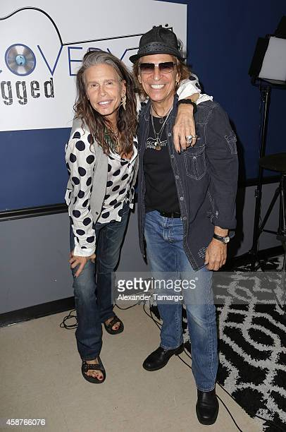 Steven Tyler performs and speaks with clients of Recovery Unplugged Treatment Center to provide the powerful, inspirational message of recovery...