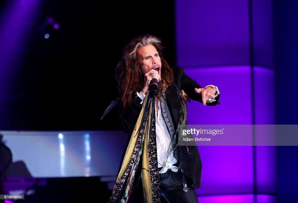 Steven Tyler performs at the 2017 Starkey Hearing Foundation So the World May Hear Awards Gala at the Saint Paul RiverCentre on July 16, 2017 in St. Paul, Minnesota.