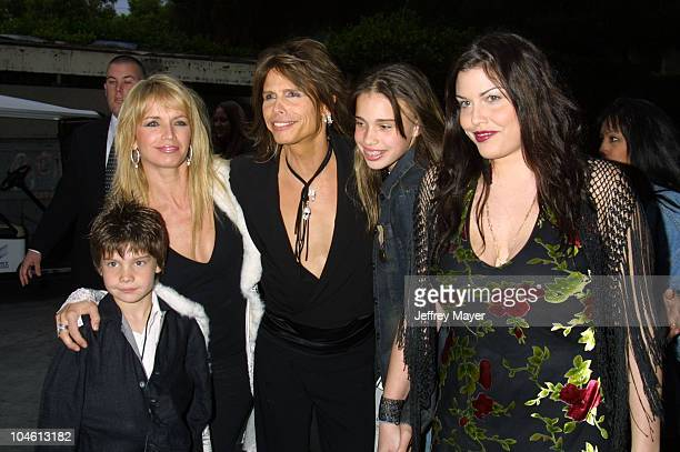 Steven Tyler son Taj wife Teresa daughters Chelsea Mia Tyler