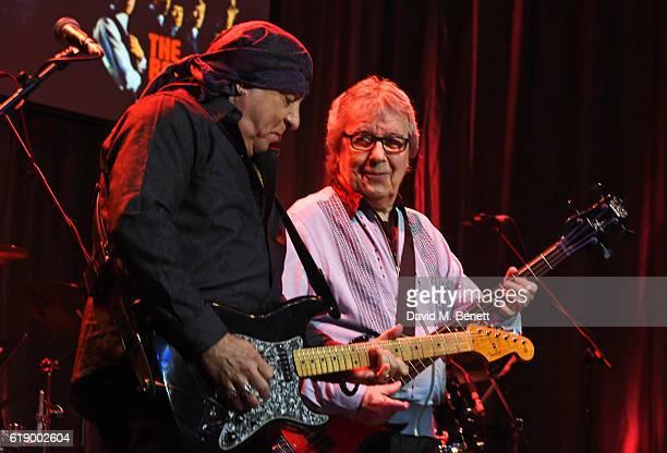 Steven Van Zandt and Bill Wyman perform at Bill Wyman's 80th Birthday Gala as part of BluesFest London at Indigo at The O2 Arena on October 28 2016...