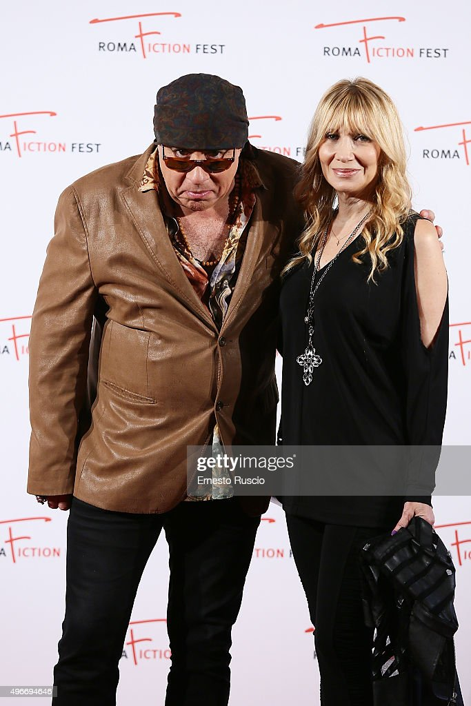 Steven Van Zandt and Maureen Van Zandt attend the Red Carpet Masterclass at Cinema Adriano on November 11, 2015 in Rome, Italy.