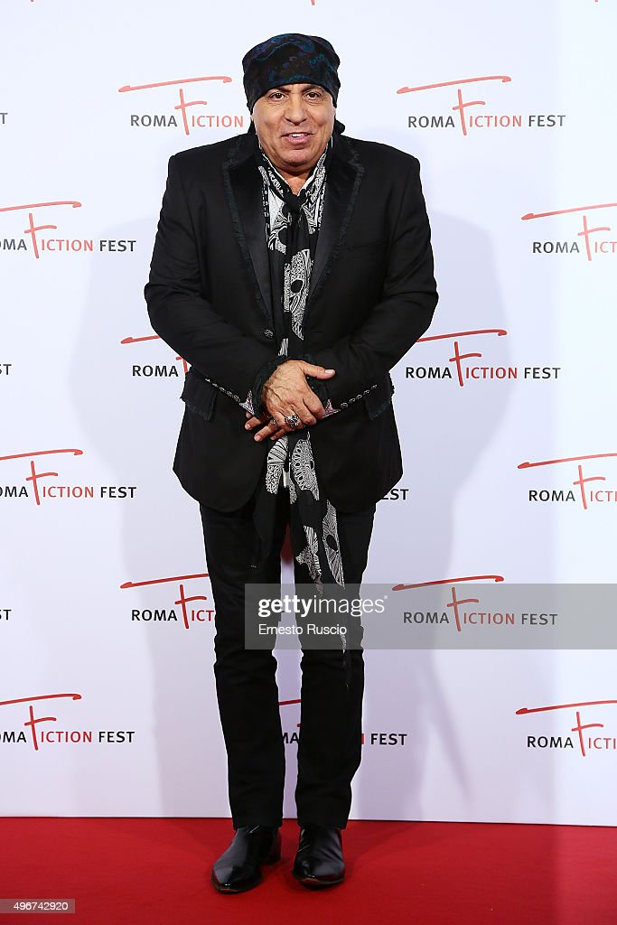 Steven Van Zandt attends the 'Lea' red carpet during the RomaFictionFest 2015 at Auditorium Conciliazione on November 11, 2015 in Rome, Italy.