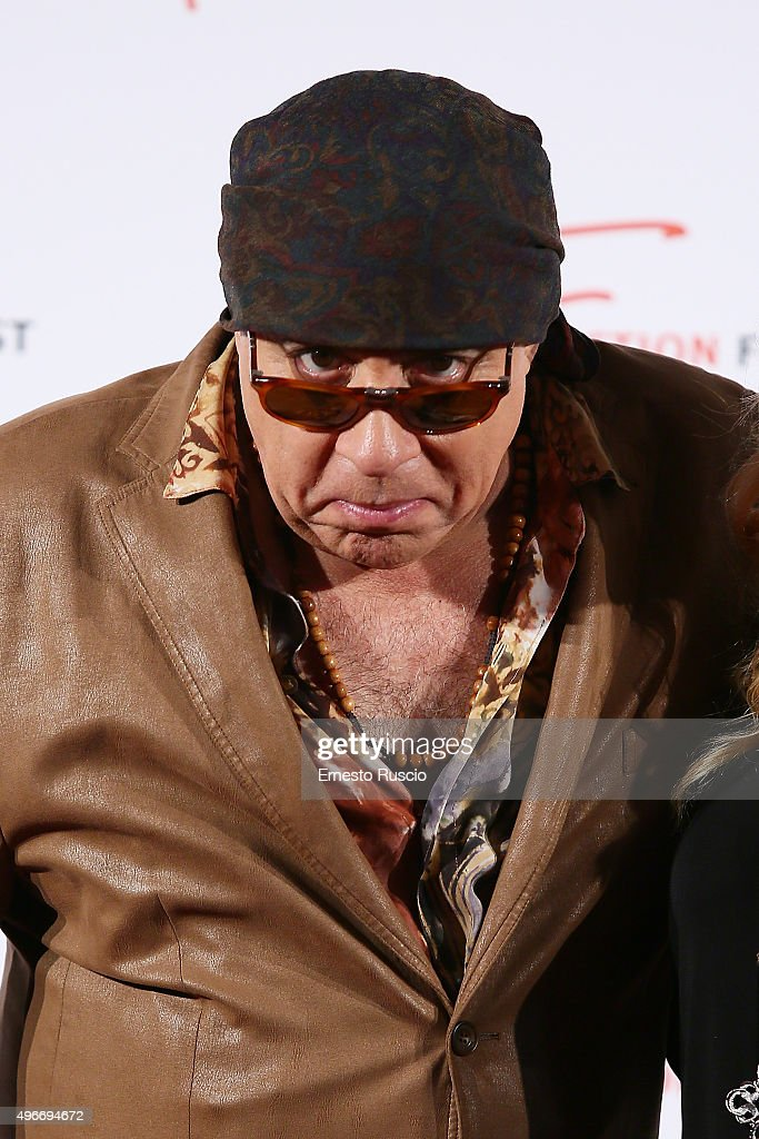 Steven Van Zandt attends the Red Carpet Masterclass at Cinema Adriano on November 11, 2015 in Rome, Italy.