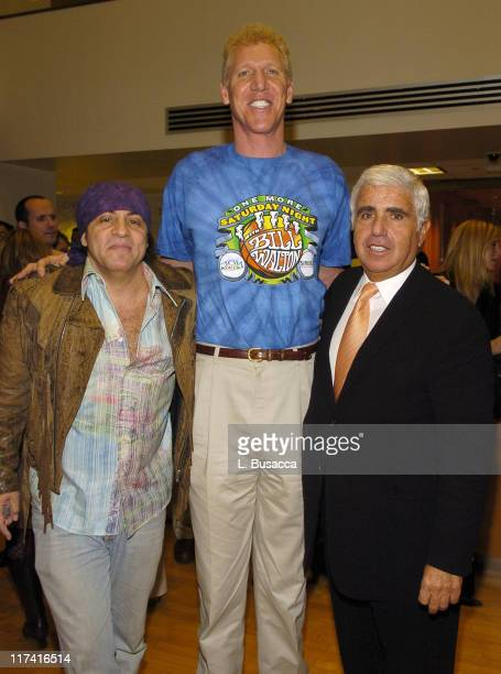 Steven Van Zandt Bill Walton and Mel Karmazin CEO of Sirius Satellite Radio