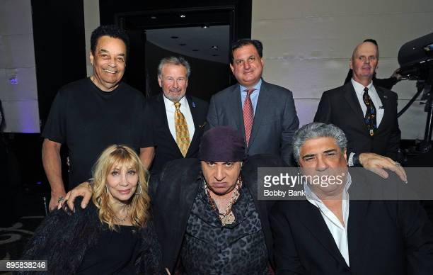 Steven Van Zandt Maureen Van Zandt Vincent Pastore Kevin Schroeder Gary US Bonds and Ralph Andretta attend the 3rd Annual Little Steven's Policeman's...