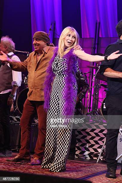 Steven Van Zandt Maureen Van Zandt with Rockit Live at Count Basie Theater on August 29 2015 in Red Bank New Jersey
