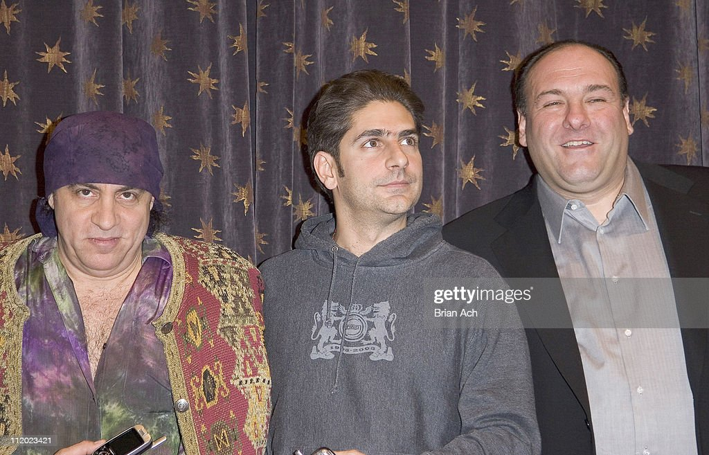Steven Van Zandt, Michael Imperioli and James Gandolfini