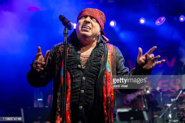 Steven Van Zandt of Little Steven and the Disciples of Soul performs onstage at Sala Apolo on June 17 2019 in Barcelona Spain