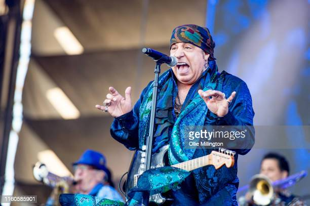 Steven Van Zandt of Little Steven and The Disciples of Soul performs during during Day 3 of the 52nd Festival D'été Quebec on July 6 2019 in Quebec...