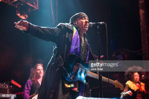 Steven Van Zandt of Little Steven and the Disciples of Soul performs on stage at Sala Razzmatazz on December 7 2017 in Barcelona Spain