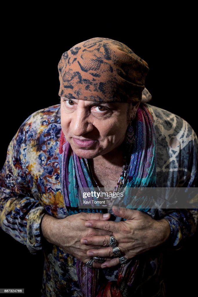 Steven Van Zandt (Little Steven) poses for a portrait at Hard Rock Cafe on December 6, 2017 in Barcelona, Spain.