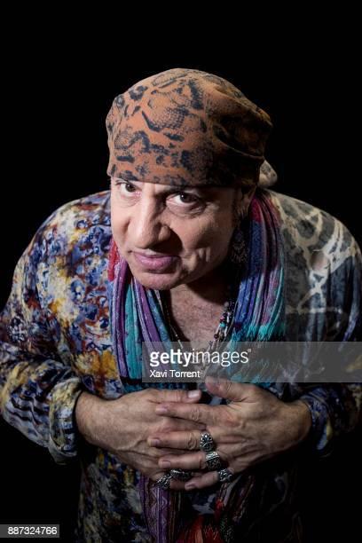 Steven Van Zandt poses for a portrait at Hard Rock Cafe on December 6 2017 in Barcelona Spain