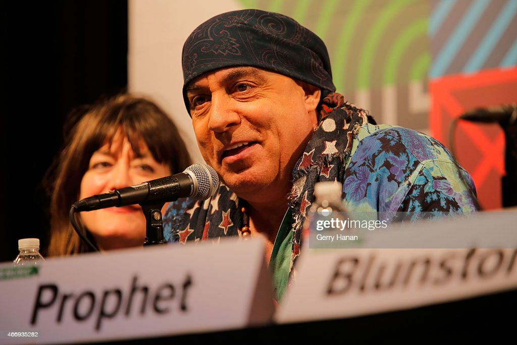 Steven Van Zandt speaks onstage at 'The Who At 50' during the 2015 SXSW Music, Film + Interactive Festival at Austin Convention Center on March 19, 2015 in Austin, Texas.