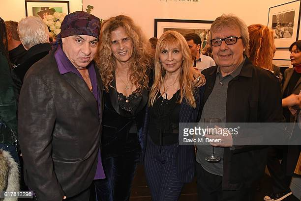 Steven Van Zandt Suzanne Wyman Maureen Van Zandt and Bill Wyman attend a private view of Bill Wyman's photographic exhibition Around The World In 80...