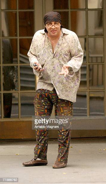 Steven Van Zandt walks through the West Village on October 17 2007 in New York City