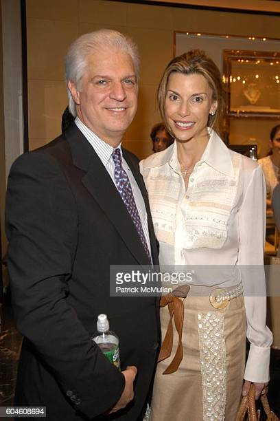 Steven Victor and Anna Rhodes Victor attend JUDITH RIPKA and CANYON RANCH Host a Preview of the New 18k Couture Collection at Judith Ripka on June 13...