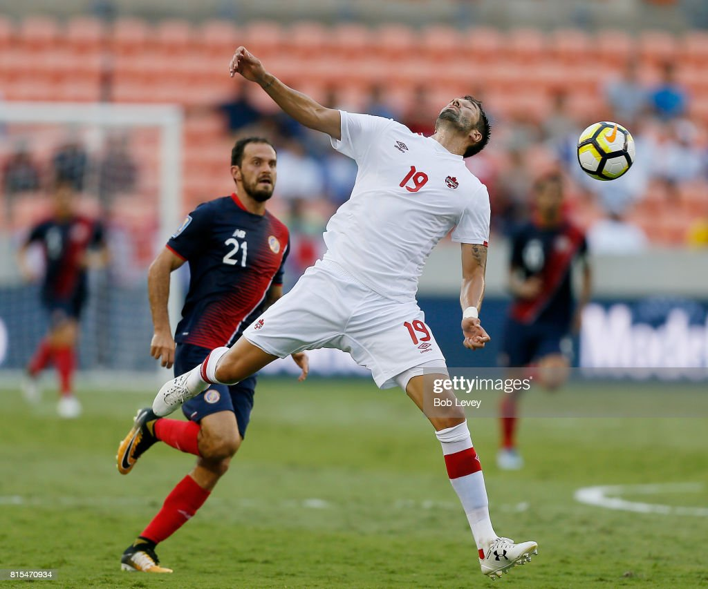 Canada v Costa Rica: Group A - 2017 CONCACAF Gold Cup : Photo d'actualité