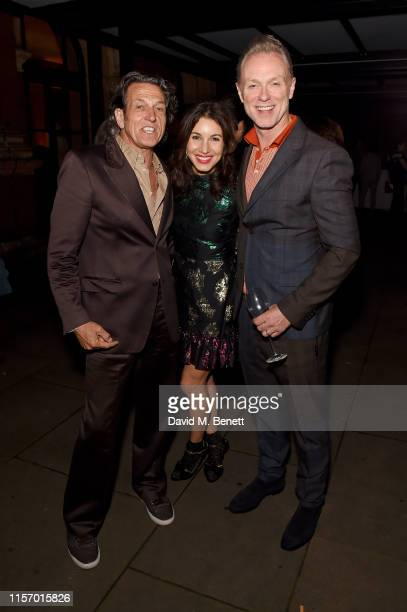 Steven Webster Lauren Kemp and Gary Kemp attend The VA Summer Party 2019 in partnership with Dior on June 19 2019 in London England