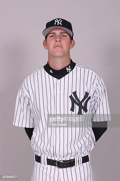 Steven White of the New York Yankees during photo day at Legends Field on February 24 2006 in Tampa Florida