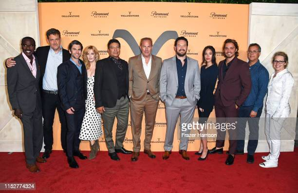 Steven Williams Keith Cox Wes Bentley Kelly Reilly Gil Birmingham Kevin Costner Cole Hauser Kelsey Chow Luke Grimes Kent Alterman and Sarah Levy...