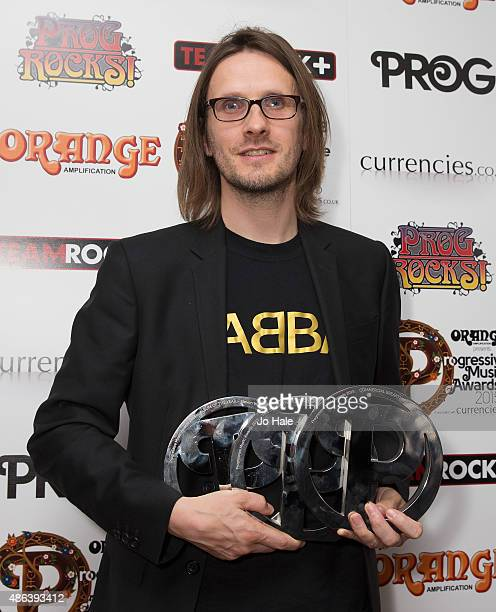 Steven Wilson of Porcupine Tree wins The Storm Thorgeson Grand DesignAlbum of the Year and Commercial Breakthrough Awards at the Progressive Music...