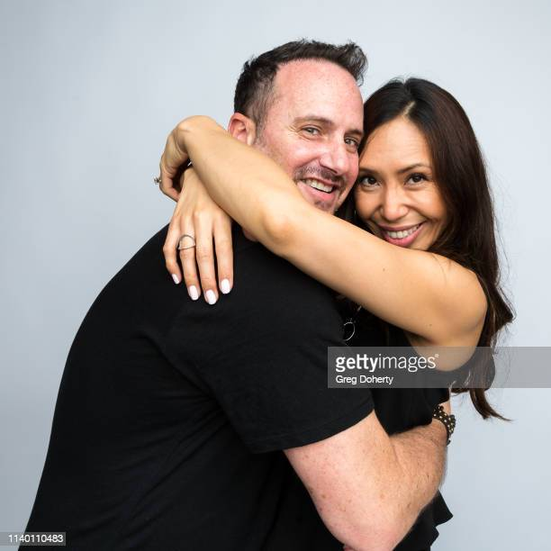 Steven Yamin and Monica Lengkong attend the Kids Against Animal Cruelty visit to TAP The Artists Project on April 28 2019 in Los Angeles California