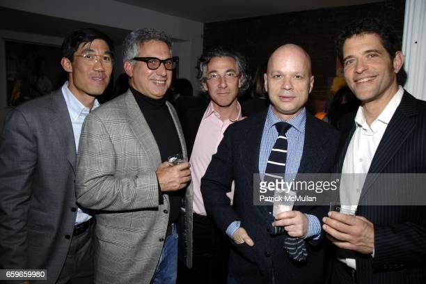 Steven Yee, Bob Morris, Ira Silverberg, Kevin Sessums, Brad Gooch attend Patricia Bosworth and Joel Conarroe host party for BRAD GOOCH'S new book...