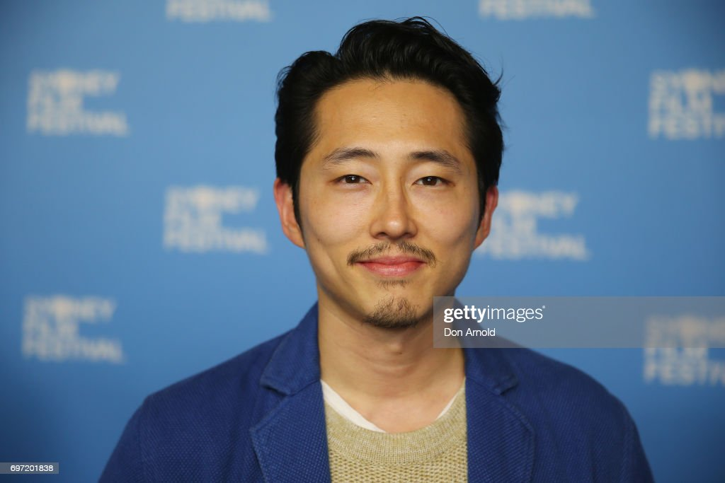 Steven Yeun arrives ahead of the Sydney Film Festival Closing Night Gala and Australian premiere of Okja at State Theatre on June 18, 2017 in Sydney, Australia.