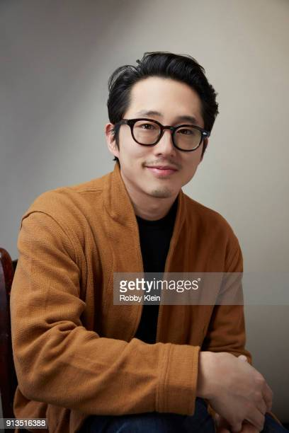Steven Yeun from the film 'Sorry To Bother You' poses for a portrait in the YouTube x Getty Images Portrait Studio at 2018 Sundance Film Festival on...