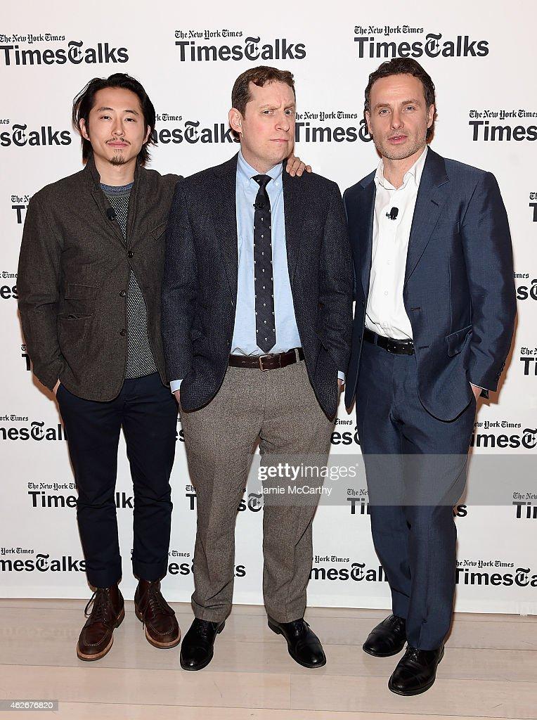 TimesTalks: The Walking Dead : News Photo