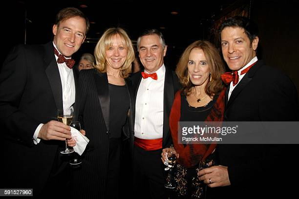 Steven Yorra Barbara Spock Paul Bellhouse Hariet Norris and David Lees attend Chase Wildlife Foundation hosts The Penquin Party at Doubles on...