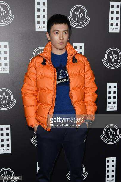 Steven Zhang attends the Moncler fashion show on February 19 2020 in Milan Italy