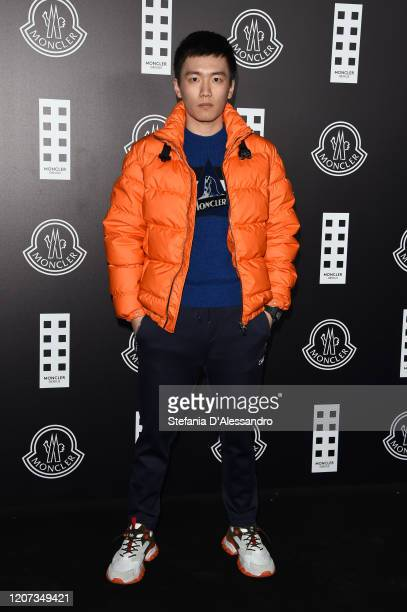 Steven Zhang attends the Moncler fashion show on February 19, 2020 in Milan, Italy.