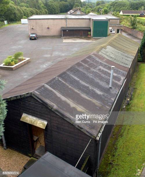 Stevenson Abattoir in Dunblane Stirlingshire which was the destination for a pig nicknamed 'McQueen'which escaped en route to the slaughterhouse...