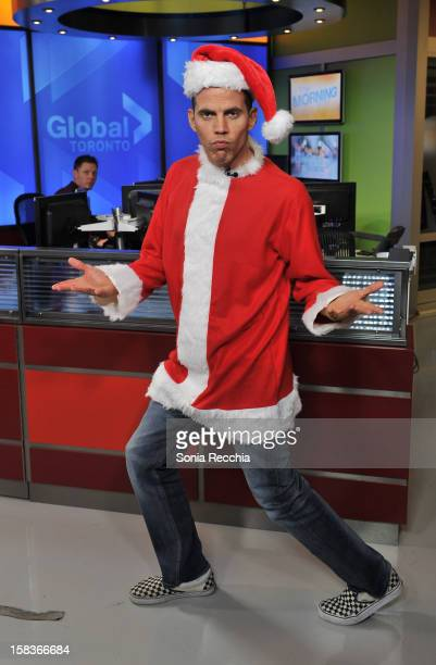 SteveO Appears On The Morning Show at The Morning Show Studios on December 14 2012 in Toronto Canada