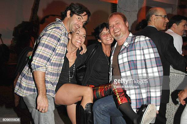 Stevhen Dean Maureen Mahoney Anne De Leporte and Sean Mellyn attend DAVID YURMAN and THE WHITNEY MUSEUM host OUT OF THE ARCHIVES at The Sagamore on...