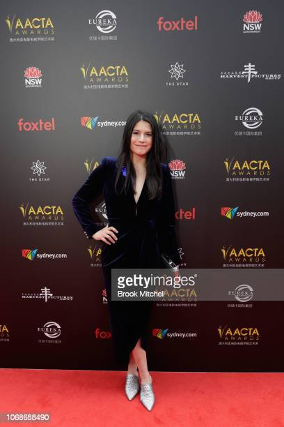 Stevie CruzMartin attends the 2018 AACTA Awards Presented by Foxtel at The Star on December 5 2018 in Sydney Australia