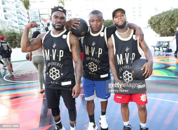 Stevie J OT Genasis and Tory Lanez attend The House Of Remy Martin Presents The MVP Experience In Miami at W South Beach on December 8 2017 in Miami...