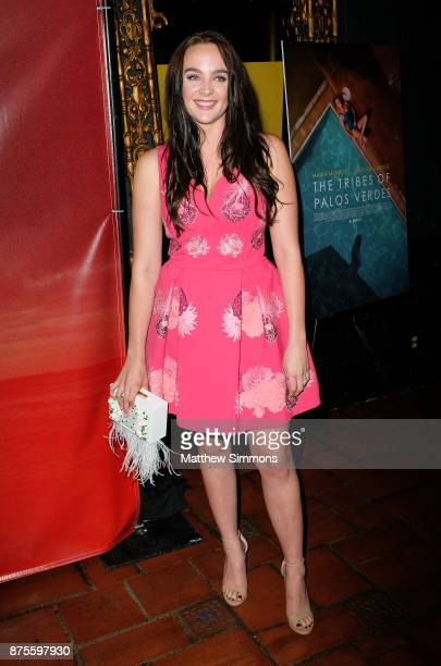 Stevie Lynn Jones at the premiere of IFC Films' 'The Tribes Of Palos Verdes' at The Theatre at Ace Hotel on November 17 2017 in Los Angeles California