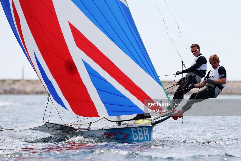 Olympics Day 12 - Sailing