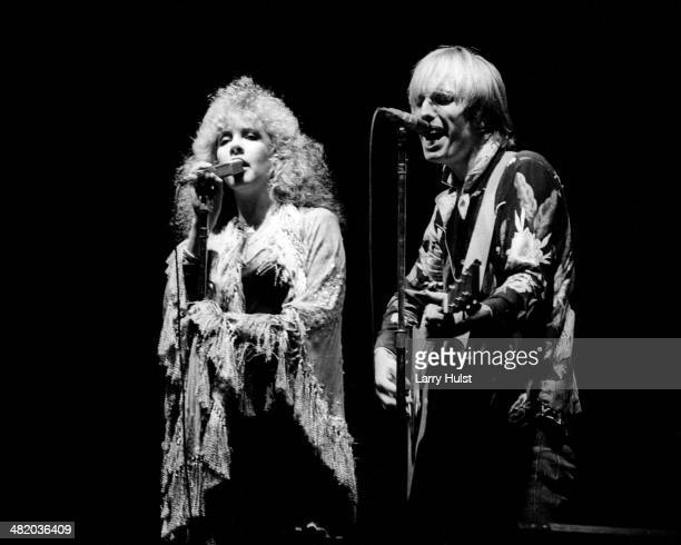 Stevie Nicks and Tom Petty perform together at the Cow Palace on June 26 1981 in Daly City California Photo by Larry Hulst/Michael Ochs Archives/Getty