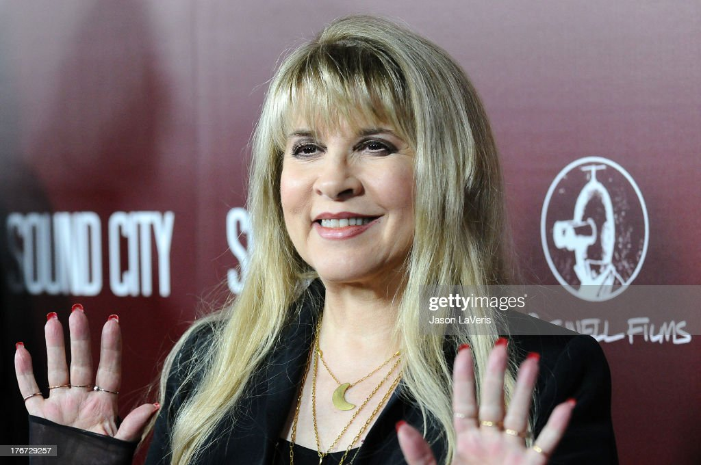 Stevie Nicks attends the premiere of 'Sound City' at ArcLight Cinemas Cinerama Dome on January 31, 2013 in Hollywood, California.