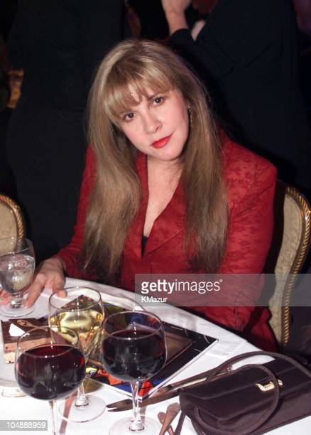 Stevie Nicks during 15th Annual Rock and Roll Hall of Fame Induction Ceremony 2000 at Waldorf=Astoria in New York New York United States