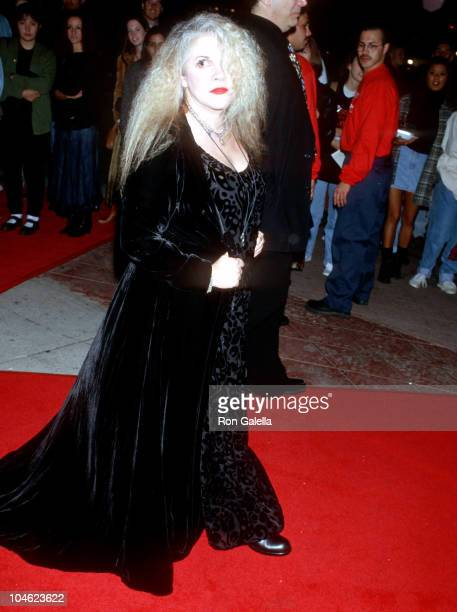 Stevie Nicks during 'Interview With A Vampire' Los Angeles Premiere at Manns Village Theater in Westwood California United States