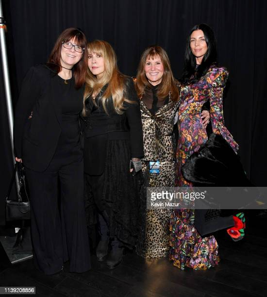 Stevie Nicks , Liberty Ross and guests attend the 2019 Rock & Roll Hall Of Fame Induction Ceremony at Barclays Center on March 29, 2019 in New York...