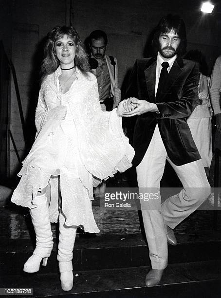 Stevie Nicks of Fleetwood Mac and husband Kim Anderson