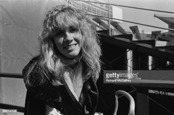 Stevie Nicks of Fleetwood Mac at The Oakland Coliseum in 1977 in Oakland California