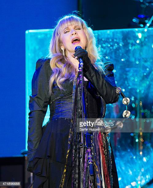 Stevie Nicks of Fleetwood Mac performs live at The O2 Arena on May 27 2015 in London England