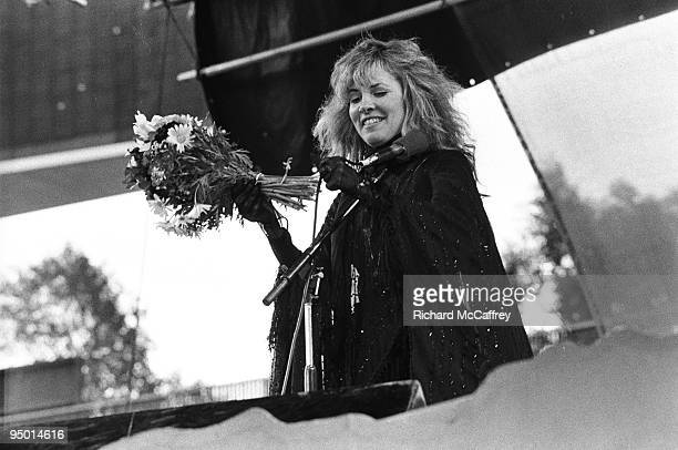 Stevie Nicks of Fleetwood Mac performs live at The Oakland Coliseum in 1977 in Oakland California